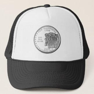 New Hampshire State Quarter Trucker Hat
