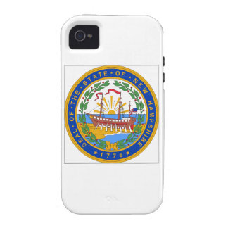 New Hampshire State Seal Vibe iPhone 4 Case