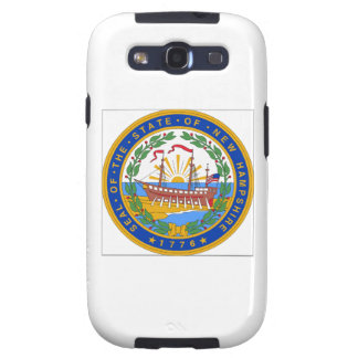 New Hampshire State Seal Samsung Galaxy S3 Cases