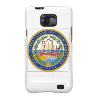 New Hampshire State Seal Galaxy S2 Case