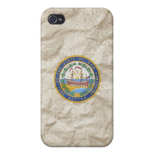 New Hampshire State Seal iPhone 4/4S Case