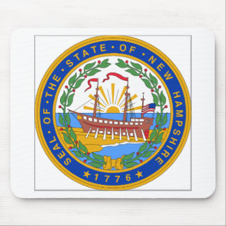 New Hampshire State Seal Mouse Pad
