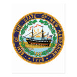 New Hampshire State Seal Post Card
