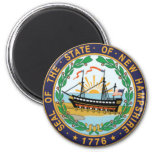 New Hampshire State Seal Refrigerator Magnets