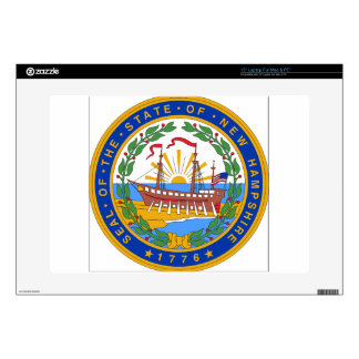 New Hampshire State Seal Laptop Skin