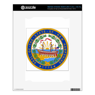 New Hampshire State Seal Skin For NOOK