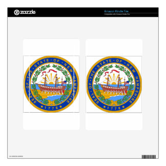 New Hampshire State Seal Kindle Fire Skin