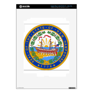 New Hampshire State Seal Skin For iPad 3