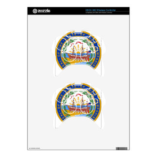 New Hampshire State Seal Xbox 360 Controller Decal