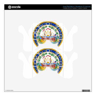 New Hampshire State Seal PS3 Controller Skin