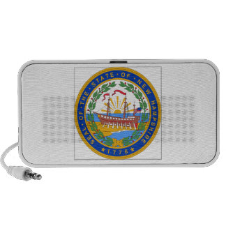 New Hampshire State Seal Travelling Speakers