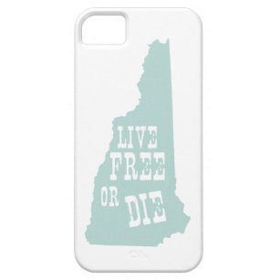 New Hampshire State Slogan Motto iPhone SE/5/5s Case