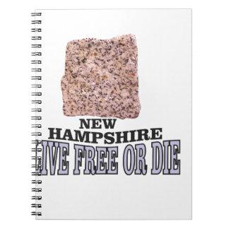 New Hampshire stone Notebook