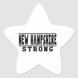 New Hampshire Strong Designs Sticker