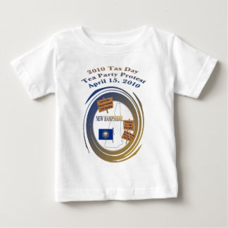 New Hampshire Tax Day Tea Party Protest Infant T-shirt