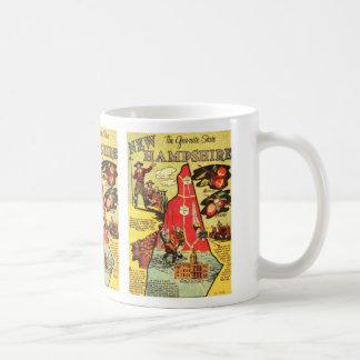 New Hampshire the Granite State Coffee Mug