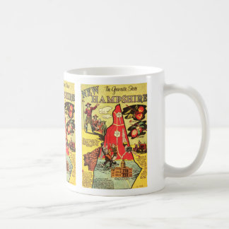 New Hampshire the Granite State Coffee Mugs