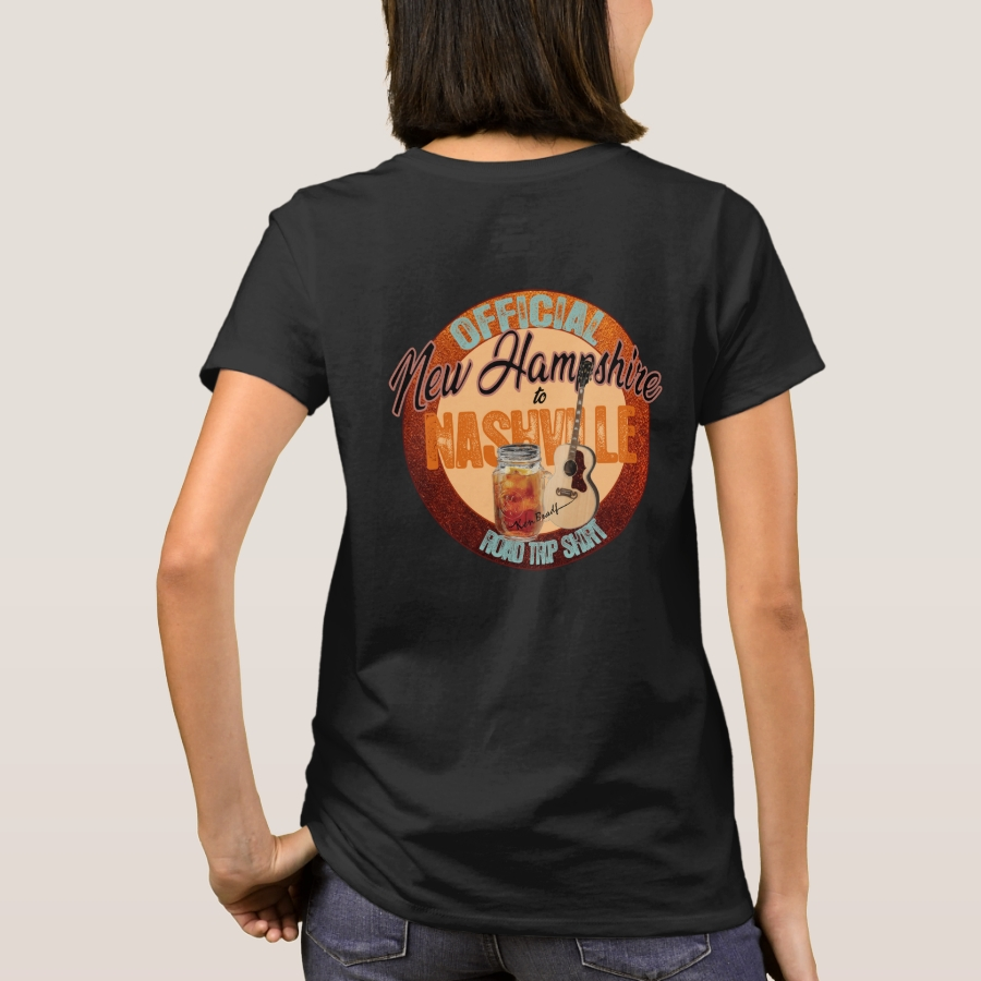 New Hampshire to Nashville Road Trip T-Shirts - Best Selling Long-Sleeve Street Fashion Shirt Designs