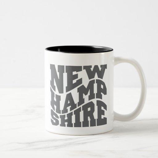 New Hampshire Two-Tone Coffee Mug