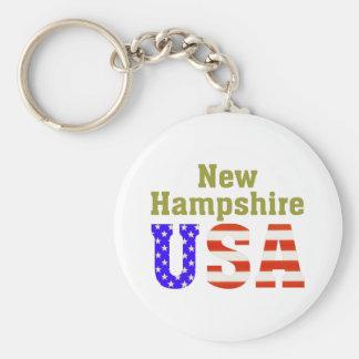 New Hampshire USA! Keychain