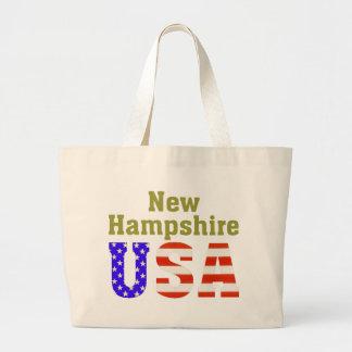 New Hampshire USA! Large Tote Bag