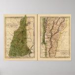 New Hampshire, Vermont 3 Impresiones