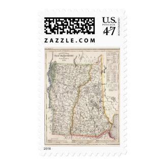 New Hampshire, Vermont Postage
