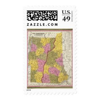 New Hampshire & Vermont Postage