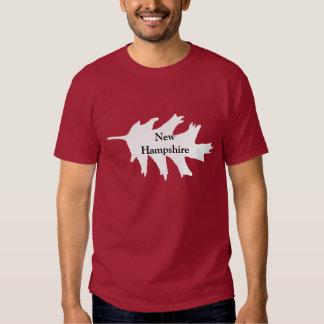 New Hampshire White Oak Leaf Tee Shirt