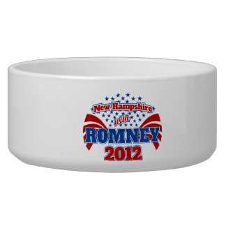 New Hampshire with Romney 2012 Bowl