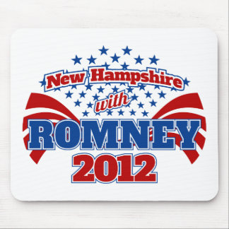 New Hampshire with Romney 2012 Mouse Pad