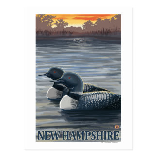 New HampshireCommon Loon Postcard