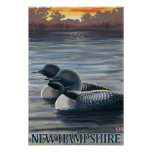 New HampshireCommon Loon Posters