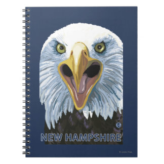 New HampshireEagle Up Close Note Books