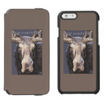 New HampshireMoose Up Close iPhone 6/6s Wallet Case