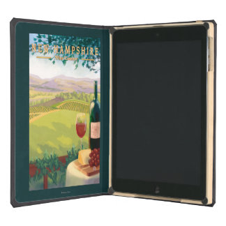 New HampshireWine Country Scene Cover For iPad Air
