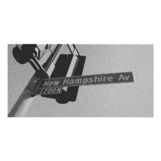 New Hamsphire Ave 1700 N Photo Card