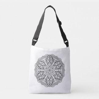 New hand-drawn artistic bag with Mandala