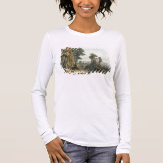 New Harmony on the Wabash, plate 2 from Volume 2 o Long Sleeve T-Shirt