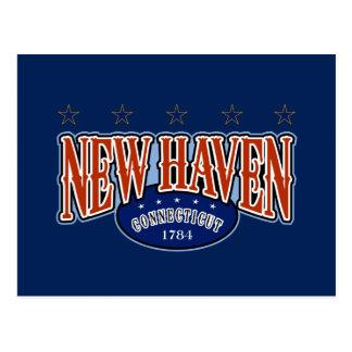 New Haven 1784 Postcard