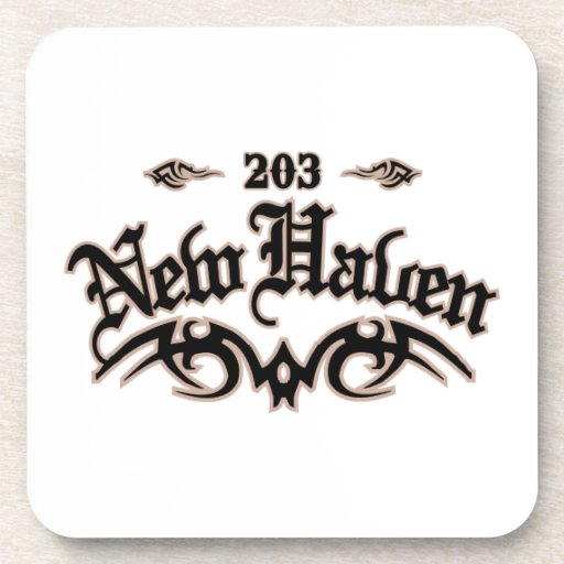 New Haven 203 Drink Coaster