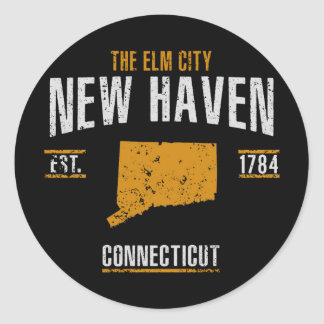 New Haven Classic Round Sticker