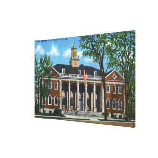 New Haven Colony Historical Society Canvas Print