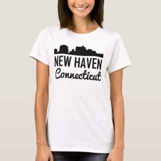 New Haven Connecticut Skyline T-Shirt