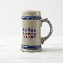 New Haven, CT Beer Stein