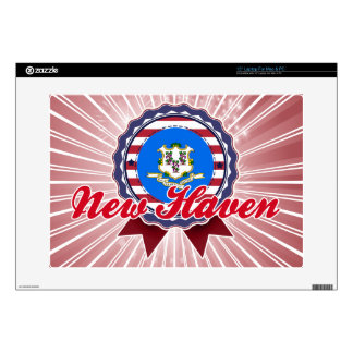 New Haven CT Decal For Laptop