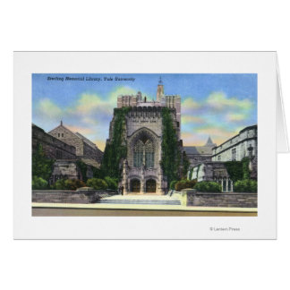 New Haven, CTYale Sterling Memorial Library Greeting Card