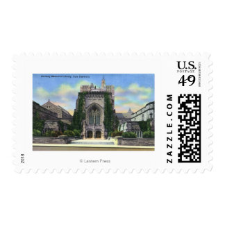 New Haven, CTYale Sterling Memorial Library Postage