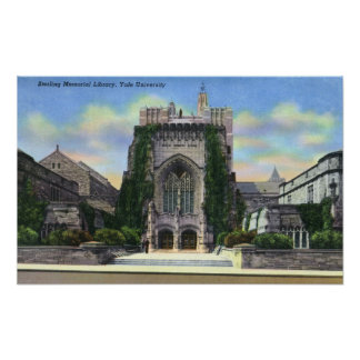 New Haven, CTYale Sterling Memorial Library Posters