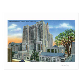 New Haven, CTYale U Sterling Memorial Library Post Card
